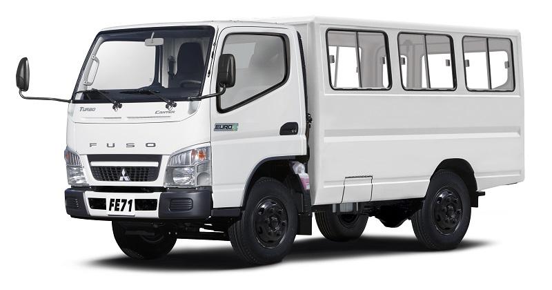 Mitsubishi Ph Debuts Euro 4 Compliant 2018 Fuso Canter Light Duty