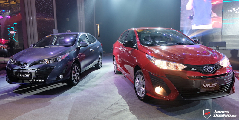 Toyota Ph Proudly Launches 2019 Vios With Enhanced Styling
