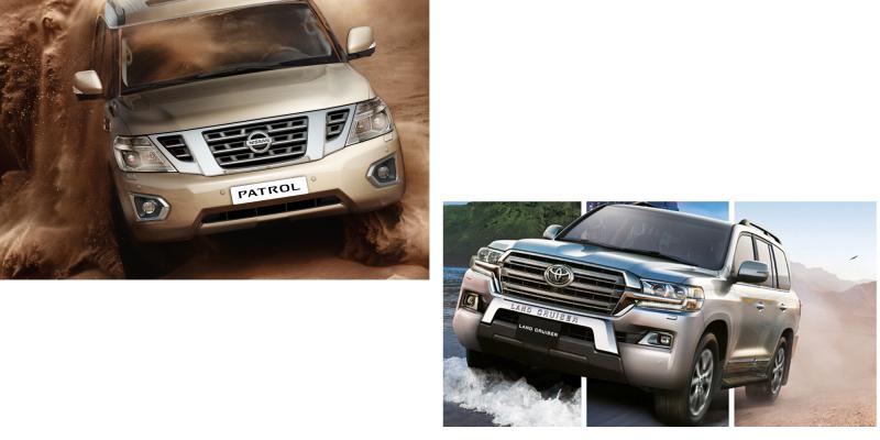 Balance of Power: Toyota Land Cruiser 200 versus Nissan