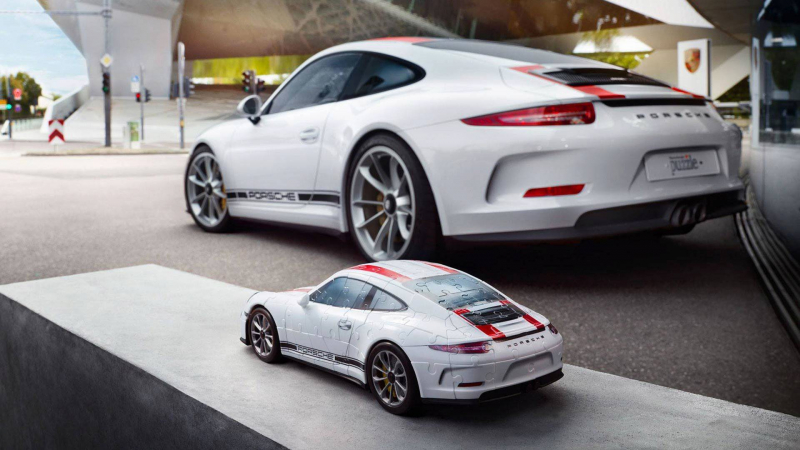 you can now get your own porsche 911 r in 3d puzzle form. Black Bedroom Furniture Sets. Home Design Ideas