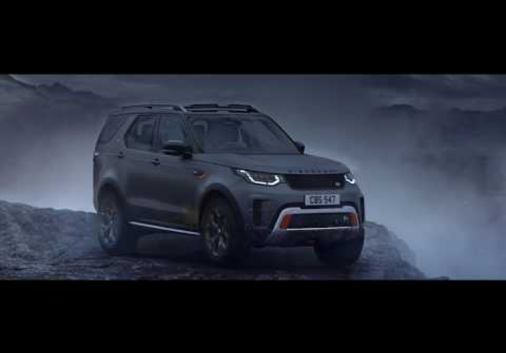 Embedded thumbnail for The Land Rover Discovery SVX is an Extremely Capable Luxury Mountain Goat