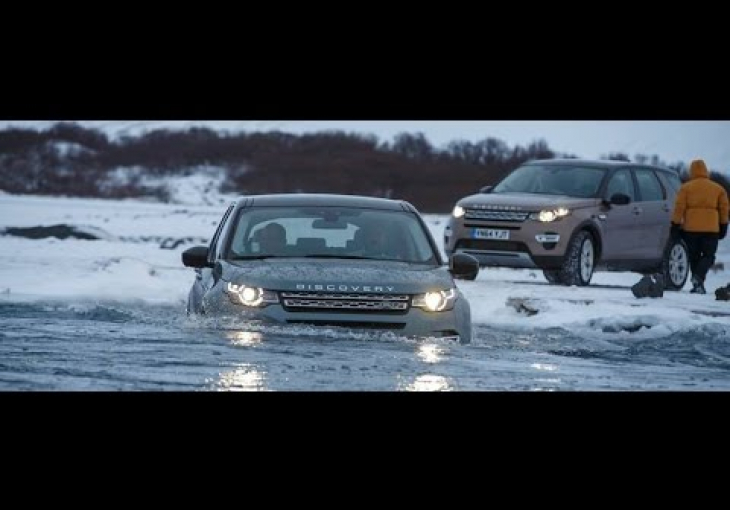 Embedded thumbnail for Land Rover breaks new ice with the Discovery Sport