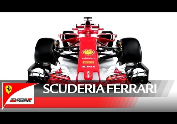 Embedded thumbnail for Ferrari unveils the SF70H as its Formula 1 2017 contender