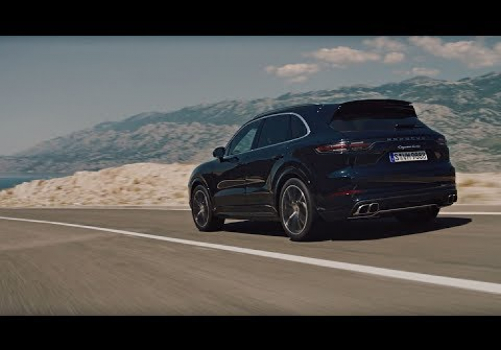 Embedded thumbnail for The Porsche Cayenne Turbo is a 911 in SUV Guise