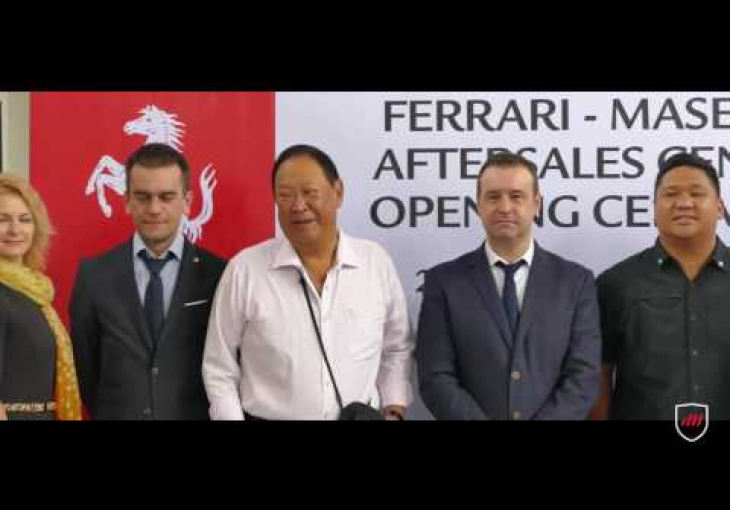 Embedded thumbnail for A New Service Center to Care For Your Ferrari and Maserati Opens in Makati