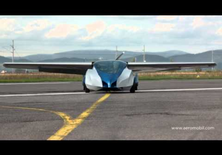 Embedded thumbnail for Are You Ready for Flying Cars? If So, Then Check Out the AeroMobil