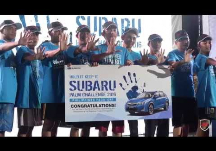 Embedded thumbnail for 2016 Subaru Palm Challenge Manila Leg Winner