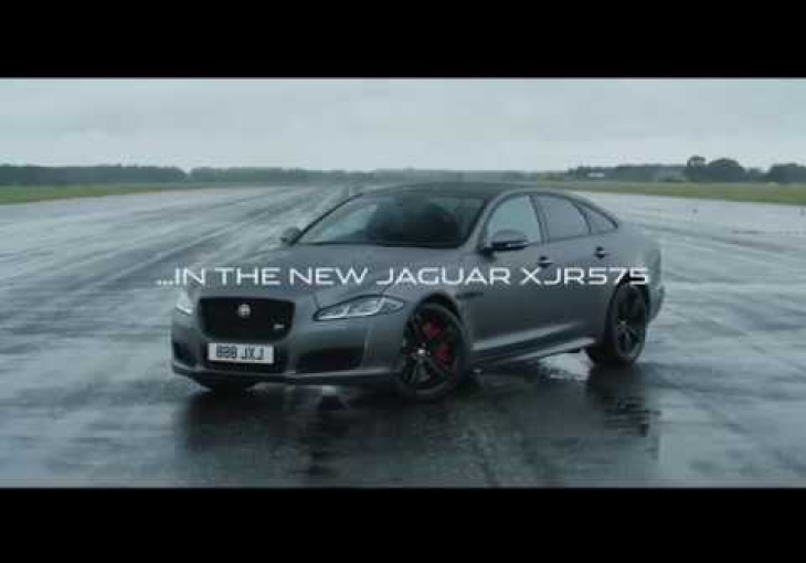 Embedded thumbnail for The Jaguar XJR575 Takes Just 44 Seconds to Reach Its 299kph Top Speed