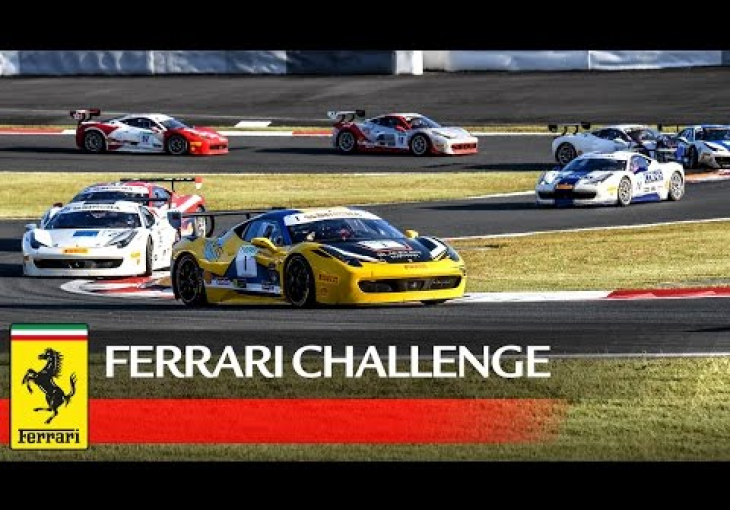 Embedded thumbnail for Ferrari Challenge Asia Pacific returns to Singapore, makes 488 Challenge its official racecar