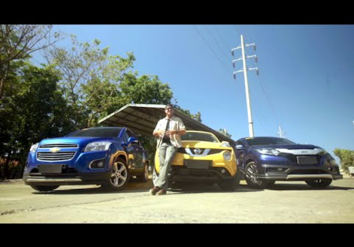 Embedded thumbnail for #CNNPHDrive: Nissan Juke, Honda HR-V and Chevrolet Trax