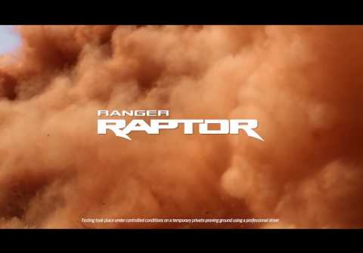 Embedded thumbnail for The Ford Ranger Raptor is the Ranger Wildtrak's More Extreme, Desert-Loving Sibling
