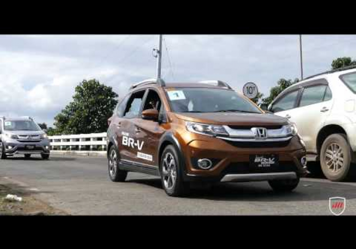 Embedded thumbnail for We drove to Baler with the Honda's newest: All-new BR-V