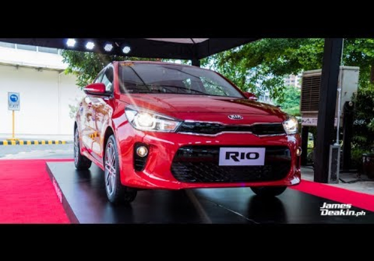 Embedded thumbnail for Award-winning all-new Kia Rio hatchback breaks cover in the Philippines
