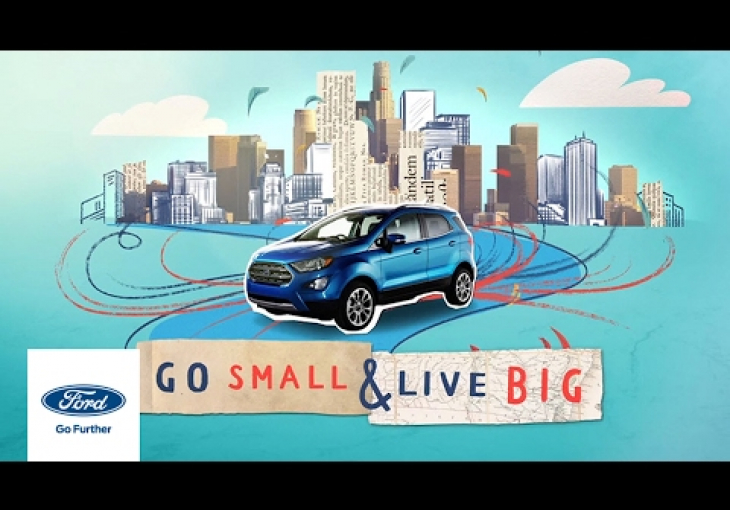 Embedded thumbnail for Ford Unveils a More Hip EcoSport