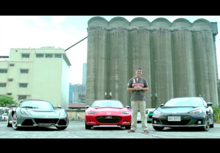 Embedded thumbnail for #CNNPHDrive: Subaru BRZ, Mazda Miata and Lotus Exige