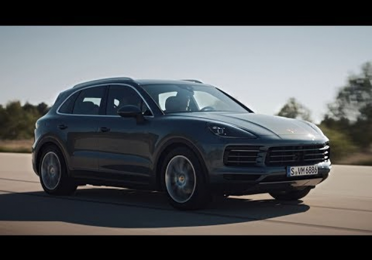Embedded thumbnail for A Sleeker and Sportier Porsche Cayenne Debuts