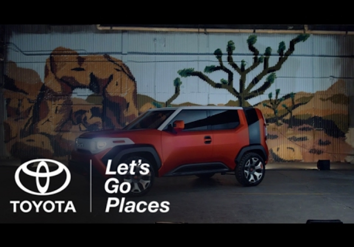 Embedded thumbnail for The Toyota FT-4X Concept Could Soon Help You Scratch That Itch To Get Away From the Grind