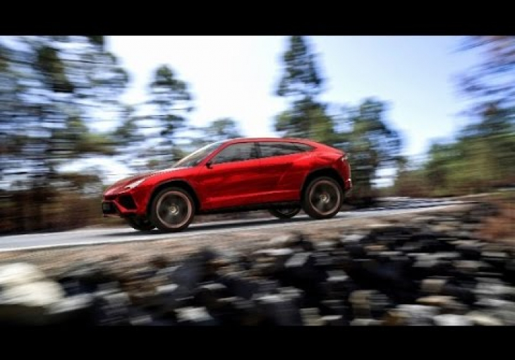 Embedded thumbnail for Lamborghini Preparing for the Birth of Urus