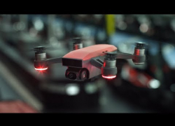 Embedded thumbnail for DJI PH brings in compact, intelligent Spark mini drone camera