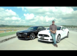 Embedded thumbnail for #CNNPHDrive: 2015 & 60's Ford Mustang and 2013 Dodge Challenger