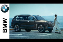 Embedded thumbnail for BMW Officially Reveals Concept X7 iPerformance Three-Row SAV
