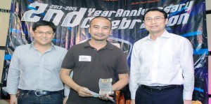 "The BYD Makata Award goes to Mr. Randy Peregrino for his insightful and comprehensive review of the BYD S6 entitled ""Indulgence Beyond Anticipation"" published in the Business Mirror on March 27, 2015."