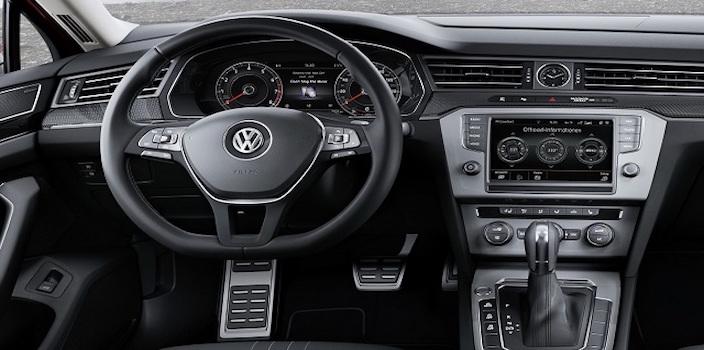2016 VW Passat Interior