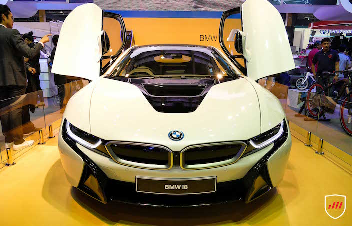 ... For The First Time In The Philippines, The BMW I8u2014a Technological  Milestone In Sustainable Mobility. The BMW I8 Inhibits The Performance Of A  Sports Car ...