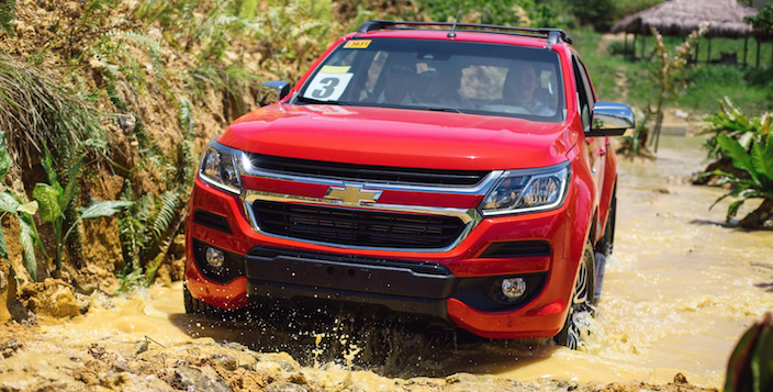 First Drive: New Chevy Trailblazer and Colorado. Run down ...