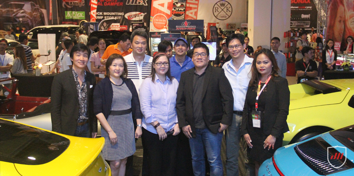 The founders, organizers and partners of Tour De Cebu