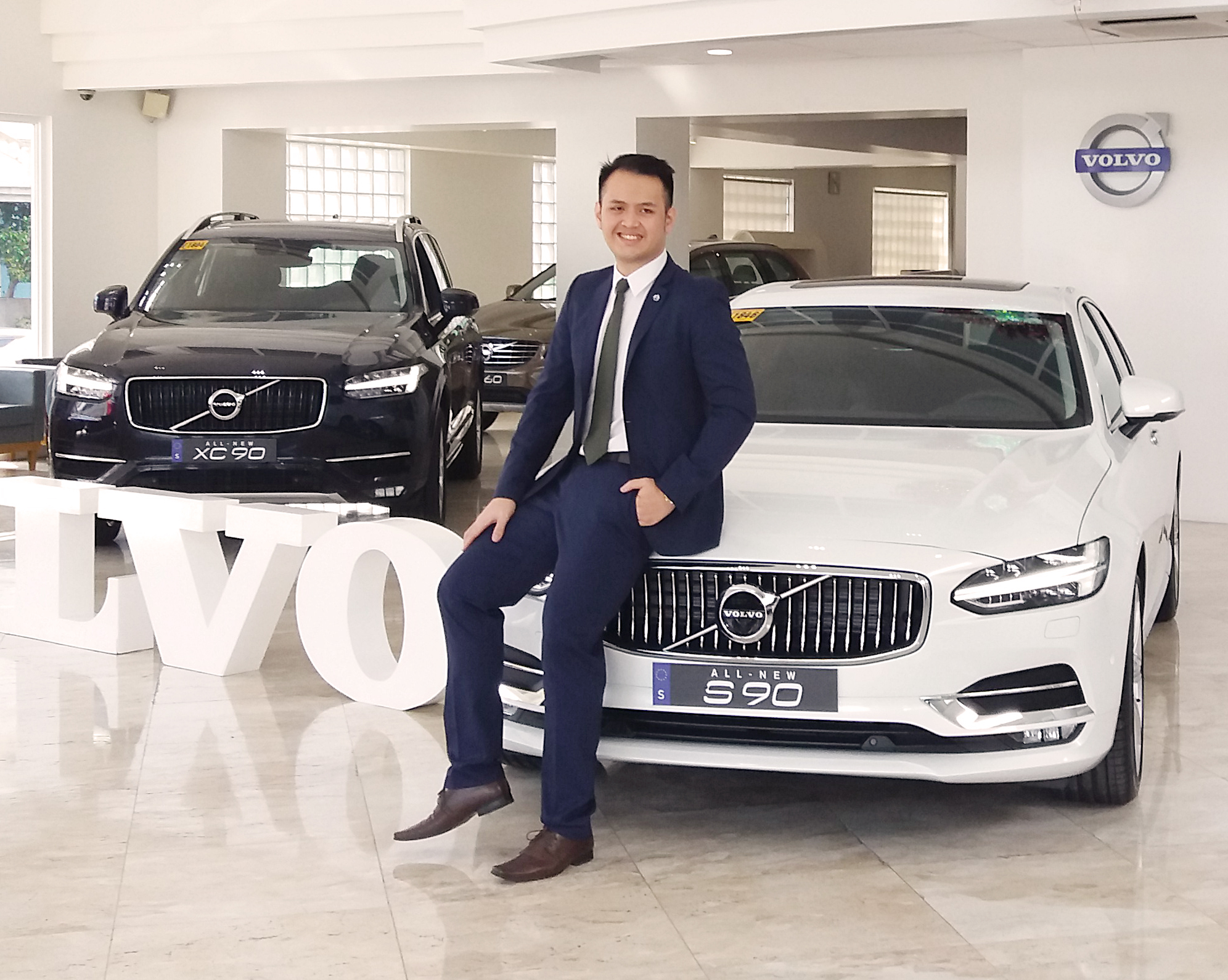 Chris Lee Yu, Volvo Philippines Marketing Head