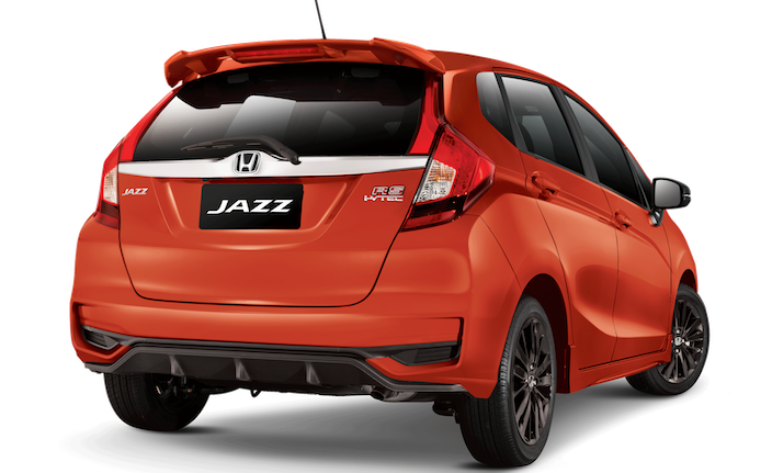 New Jazz RS - Phoenix Orange Pearl rear