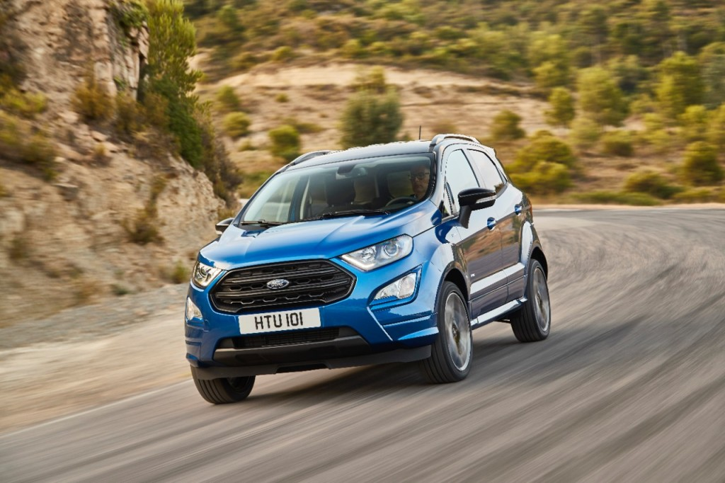 ford ecosport refresh